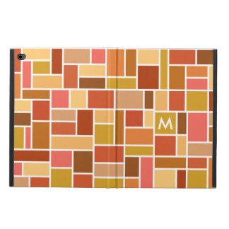 Geometric Pattern custom monogram cases
