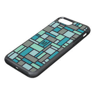 Geometric Pattern custom monogram phone cases