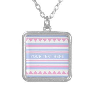 Geometric Pattern custom necklace