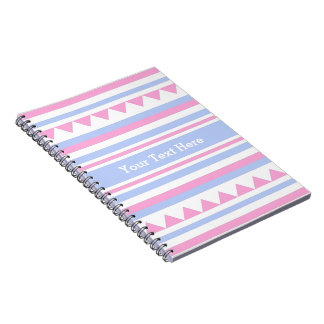 Geometric Pattern custom notebook