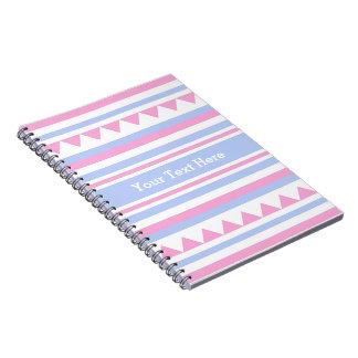 Geometric Pattern custom notebook