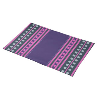 Geometric Pattern custom placemats