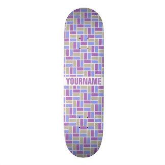 Geometric Pattern custom skateboards