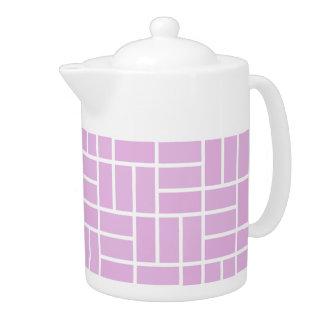Geometric Pattern custom teapot