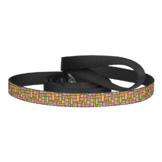 Geometric Pattern dog leash