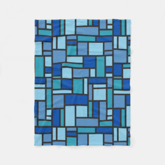 Geometric Pattern fleece blanket
