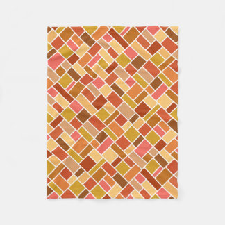 Geometric Pattern fleece blankets