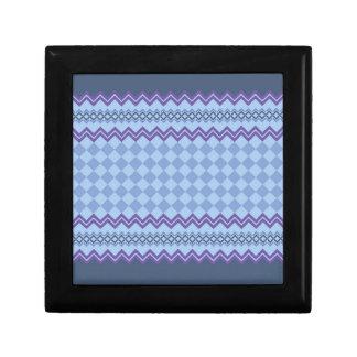 Geometric pattern gift box