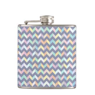Geometric Pattern Hip Flask