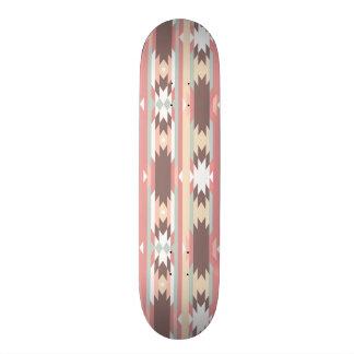 Geometric pattern in aztec style 2 21.6 cm skateboard deck