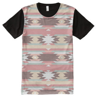 Geometric pattern in aztec style 2 All-Over print T-Shirt