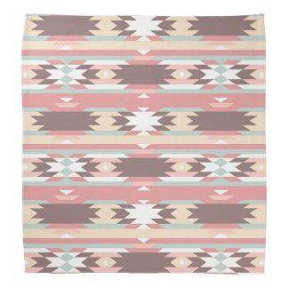 Geometric pattern in aztec style 2 bandana