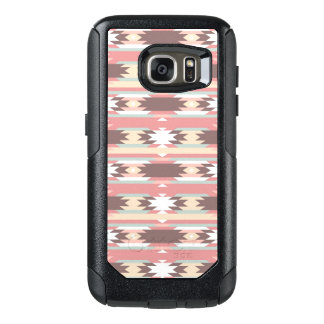 Geometric pattern in aztec style 2 OtterBox samsung galaxy s7 case