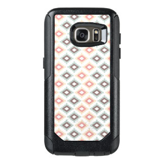 Geometric pattern in aztec style OtterBox samsung galaxy s7 case