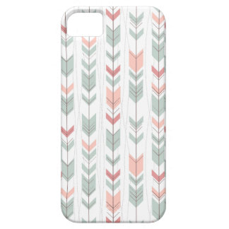 Geometric pattern in retro style barely there iPhone 5 case