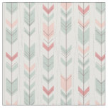 Geometric pattern in retro style fabric