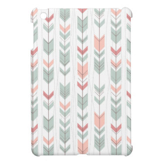 Geometric pattern in retro style iPad mini cover