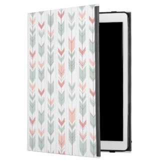 "Geometric pattern in retro style iPad pro 12.9"" case"