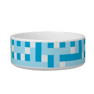 Geometric Pattern in Turquoise. Bowl