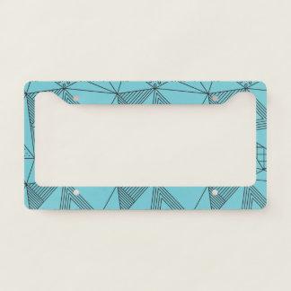 Geometric Pattern. Licence Plate Frame