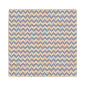Geometric Pattern Maple Wood Coaster