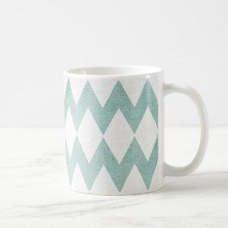 Geometric pattern mug