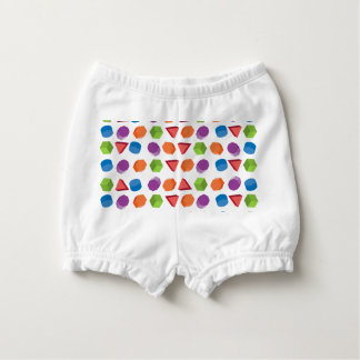 Geometric pattern nappy cover
