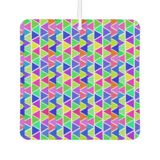Geometric Pattern New Car Square Air Freshener