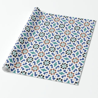 Geometric Pattern - Oriental Design Pt.4 Wrapping Paper