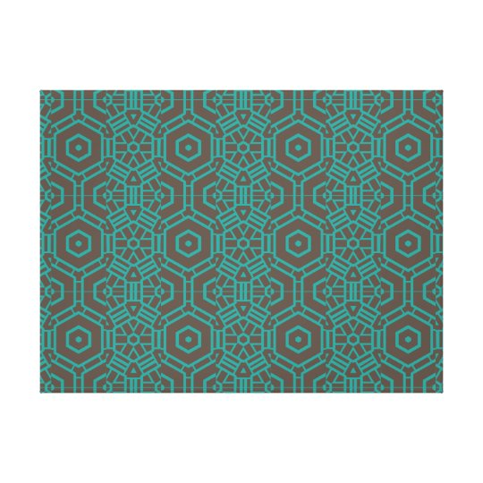 Geometric Pattern Print Wall Print