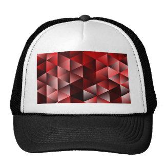 Geometric Pattern Sarah,red (I) Trucker Hat