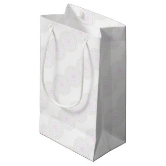 Geometric pattern small gift bag
