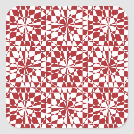 Geometric pattern Sticker