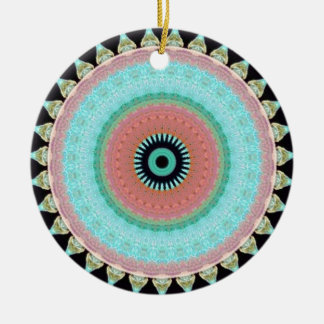 Geometric pattern Totem to inver itself Christmas Ornament