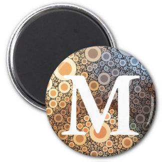 Geometric Patterns | Multicolor Circles III Magnet