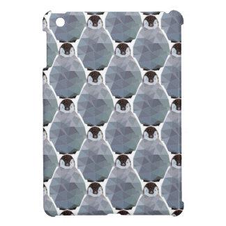 Geometric Penguin Huddle Print Cover For The iPad Mini