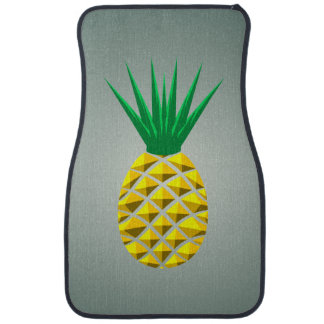 Geometric Pineapple Car Mat