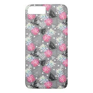 Geometric Pineapple Textured Pattern iPhone 8 Plus/7 Plus Case