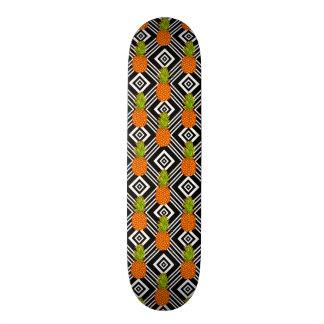 Geometric Pineapples Skateboard Deck