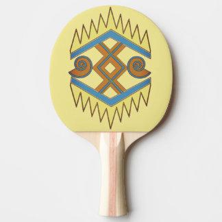Geometric Ping Pong Paddle