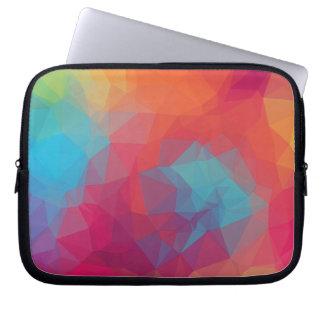 Geometric pink_funda_10 laptop computer sleeves
