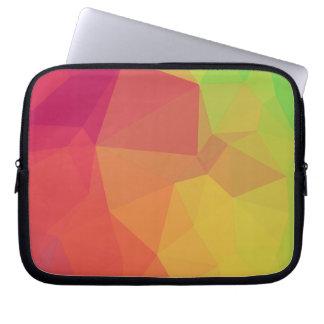 Geometric pink_funda_10 laptop sleeves
