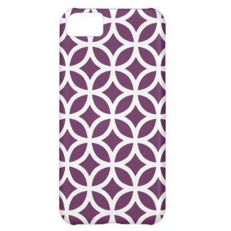 Geometric Purple iPhone 5 Case