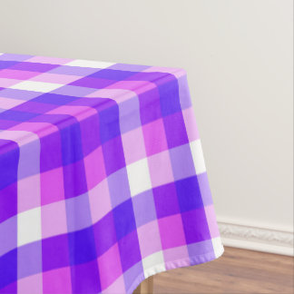 Geometric purple  pattern tablecloth