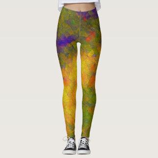 Geometric Rave Love Leggings