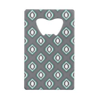 Geometric retro ikat tribal pattern