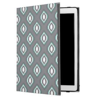 "Geometric retro ikat tribal pattern iPad pro 12.9"" case"