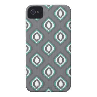 Geometric retro ikat tribal pattern iPhone 4 cover
