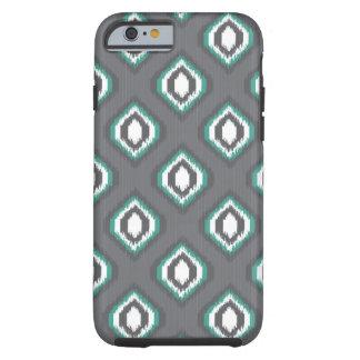 Geometric retro ikat tribal pattern tough iPhone 6 case