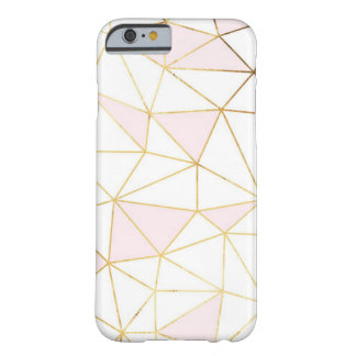 Geometric rose gold iPhone 6/6s, Barely There Barely There iPhone 6 Case
